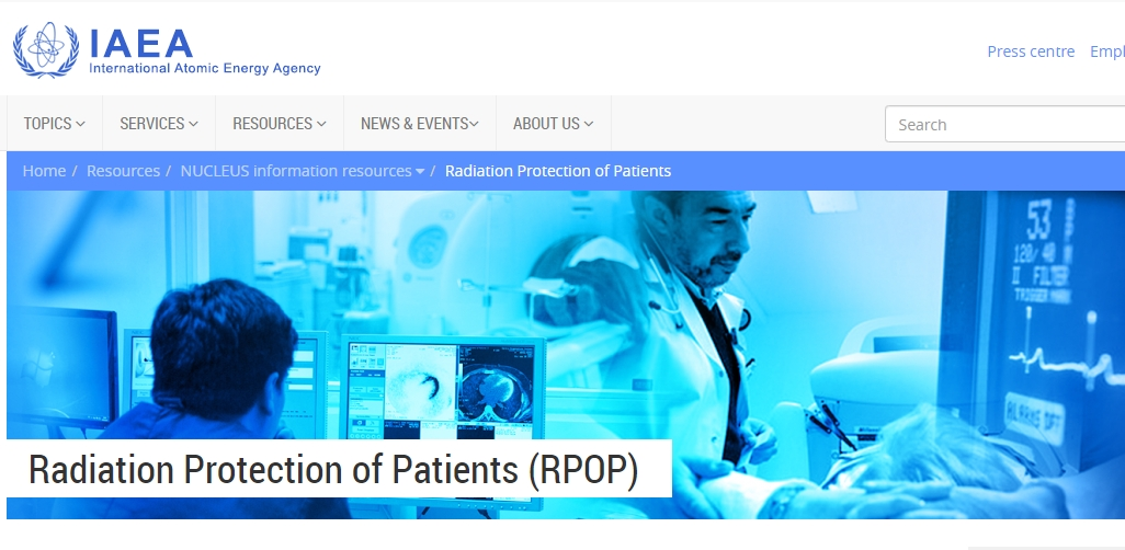 IAEA RPoP(Radiation Protection of Patients)